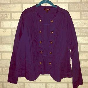 Torrid Military Style Jacket